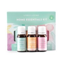 Essential Oils By Lively Living - Home Essentials Trio Kit