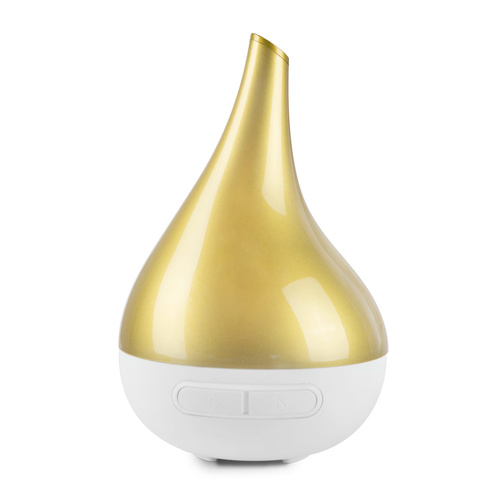 Aroma Bloom Diffuser by Lively Living - Pearl Gold