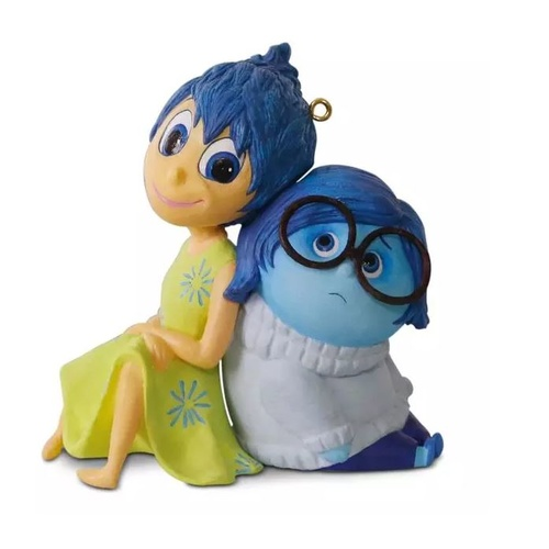 2016 Hallmark Keepsake Ornament - Disney/Pixar Legends Inside Out Joy and Sadness